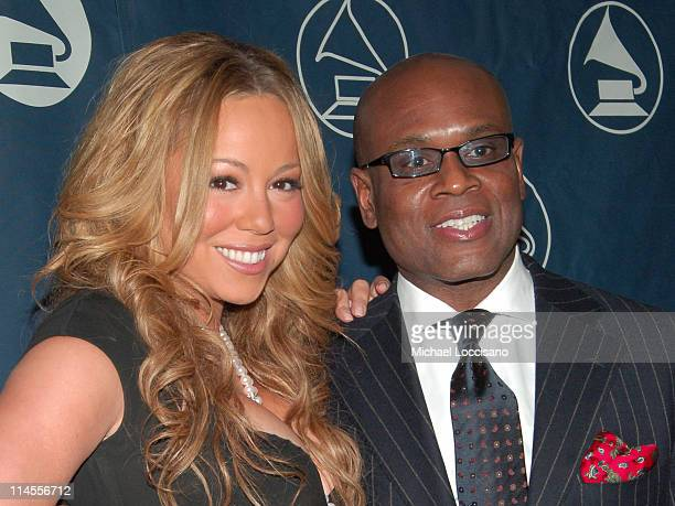 Mariah Carey Honoree and LA Reid during The Recording Academy Honors 2005 Presented by the NY Chapter of the Recording Academy at Gotham Hall in New...