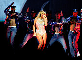 Mariah Carey performs at Manchester Arena on March 18 2016 in Manchester England