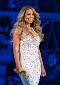 Mariah Carey performs at the Mariah Carey Second Annual 'All I Want For Christmas Is You' Concert at Beacon Theatre on December 8 2015 in New York...