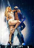 Mariah Carey performs at The SSE Hydro on March 15 2016 in Glasgow Scotland
