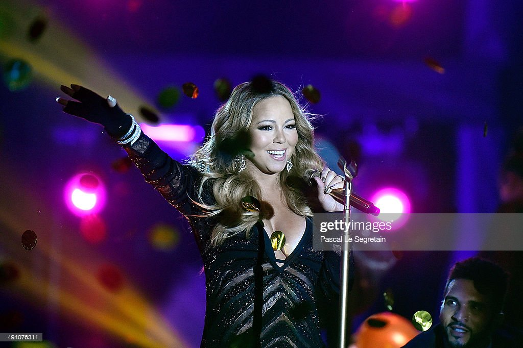 Mariah Carey performs during the ceremony of World Music Awards at Sporting Monte-Carlo on May 27, 2014 in Monte-Carlo, Monaco.