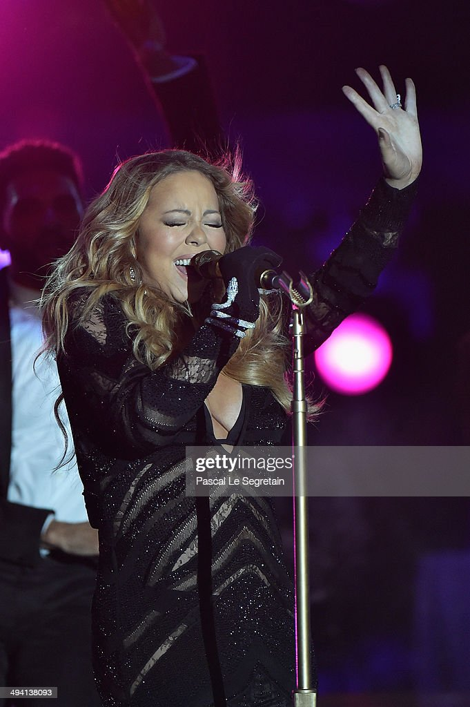 <a gi-track='captionPersonalityLinkClicked' href=/galleries/search?phrase=Mariah+Carey&family=editorial&specificpeople=171647 ng-click='$event.stopPropagation()'>Mariah Carey</a> performs on stage during the ceremony of the World Music Awards at Sporting Monte-Carlo on May 27, 2014 in Monte-Carlo, Monaco.