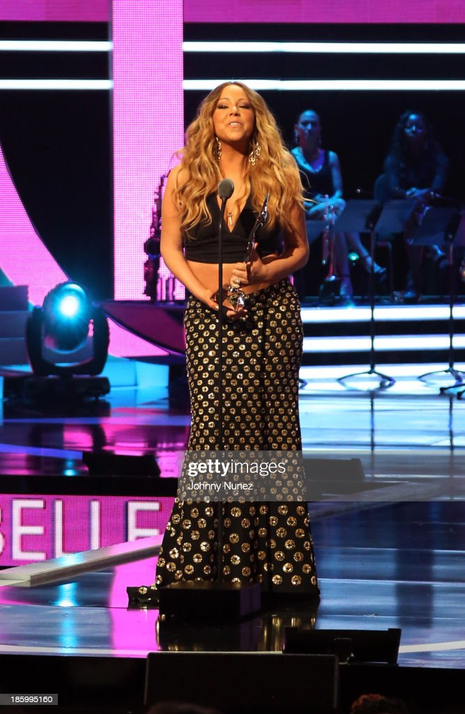 <a gi-track='captionPersonalityLinkClicked' href=/galleries/search?phrase=Mariah+Carey&family=editorial&specificpeople=171647 ng-click='$event.stopPropagation()'>Mariah Carey</a> speaks during Black Girls Rock! 2013 at New Jersey Performing Arts Center on October 26, 2013 in Newark, New Jersey.