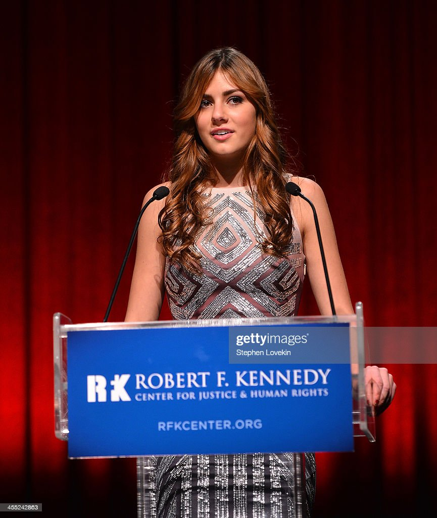 Mariah Kennedy Cuomo speaks onstage at Robert F. Kennedy Center For Justice And Human Rights 2013 Ripple Of Hope Awards Dinner at New York Hilton Midtown on December 11, 2013 in New York City.