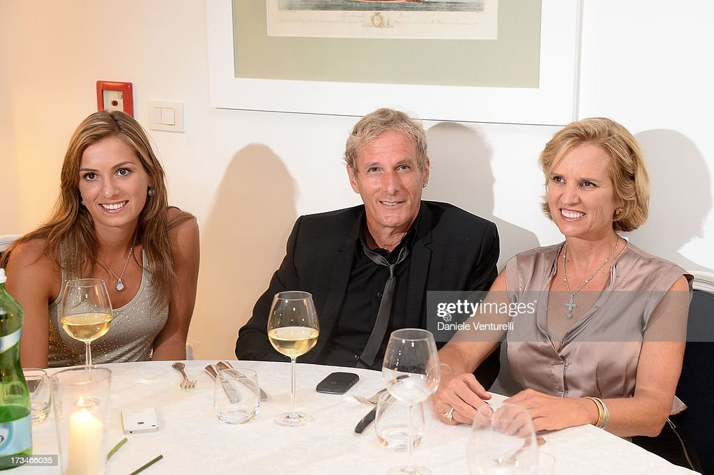 Mariah Matilda Kennedy Cuomo, Michael Bolton and Kerry Kennedy attend Day 2 of the 2013 Ischia Global Fest on July 14, 2013 in Ischia, Italy.