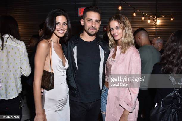 Mariah Strongin Anthony Batista and Brianne Rattinger attend Neon hosts the after party for the New York Premiere of 'Ingrid Goes West' at Alamo...