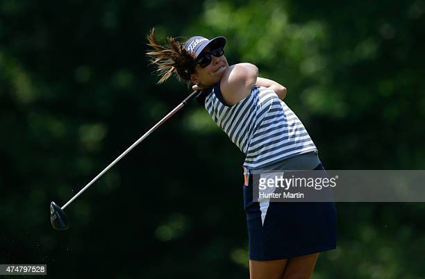 Mariajo Uribe of Columbia during the third round of the Kingsmill Championship presented by JTBC on the River Course at Kingsmill Resort on May 16...