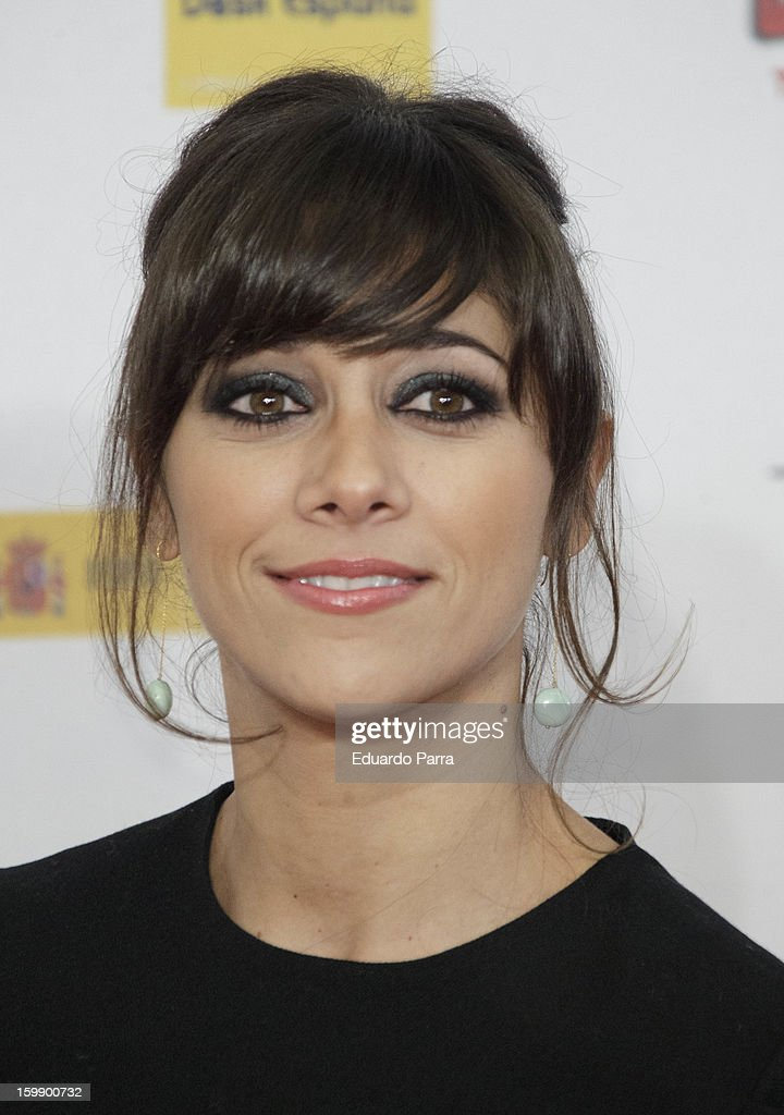 Mariam Aguilera attends Jose Maria Forque awards photocall at Canal theatre on January 22, 2013 in Madrid, Spain.