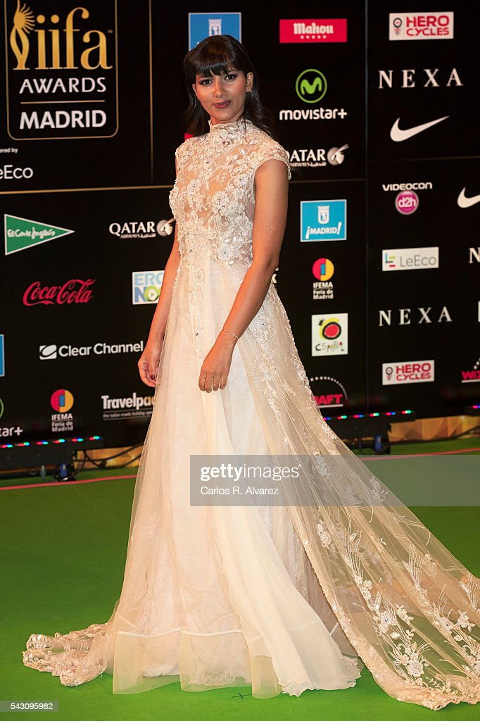 Mariam Bachir attends the 17th IIFA Awards (International Indian Film Academy Awards) at Ifema on June 25, 2016 in Madrid, Spain.