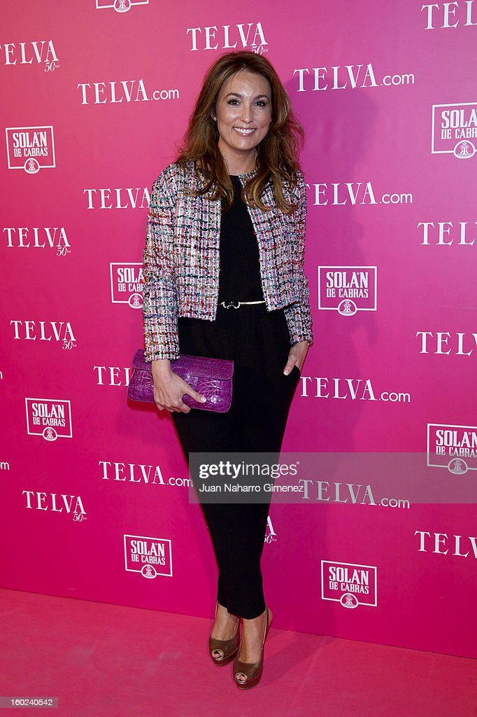 Mariam Camino attends 'Beauty T Awards 2013' by Telva at Palace Hotel on January 28, 2013 in Madrid, Spain.