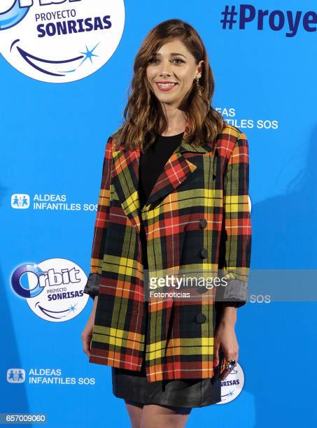 Mariam Hernandez attends the 'Proyecto Sonrisas' new edition presentation at the Principe Pio Theatre on March 23 2017 in Madrid Spain