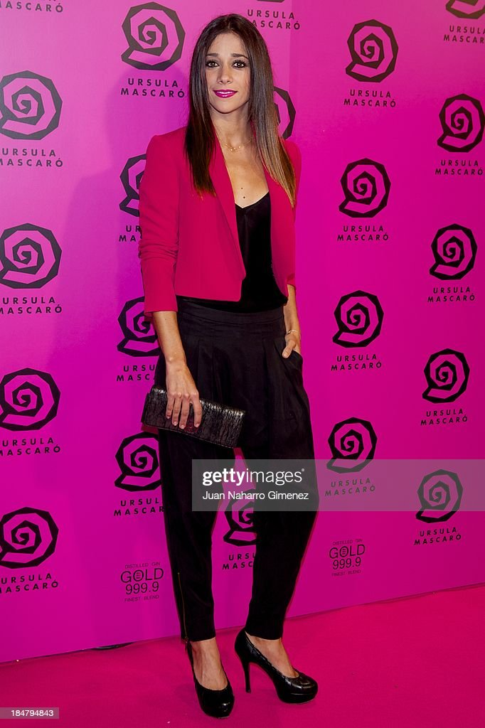 Mariam Hernandez attends Ursula Mascaro opening store at Ursula Mascaro store on October 16, 2013 in Madrid, Spain.