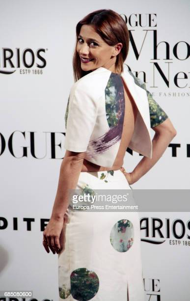 Mariam Hernandez attends VI Vogue Who's On Next party at El Principito on May 18 2017 in Madrid Spain