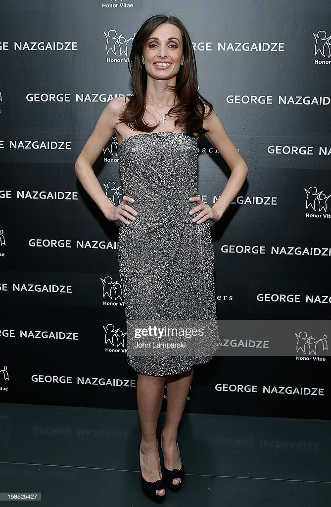 Mariam Kinkladze attends Charity Meets Fashion Holiday Celebration Honoring The World's Children at Affirmation Arts on December 17, 2012 in New York City.