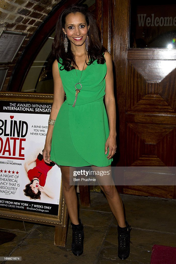 Mariama Goodman attends the press night of 'Blind Date' at Charing Cross Theatre on June 4, 2013 in London, England.
