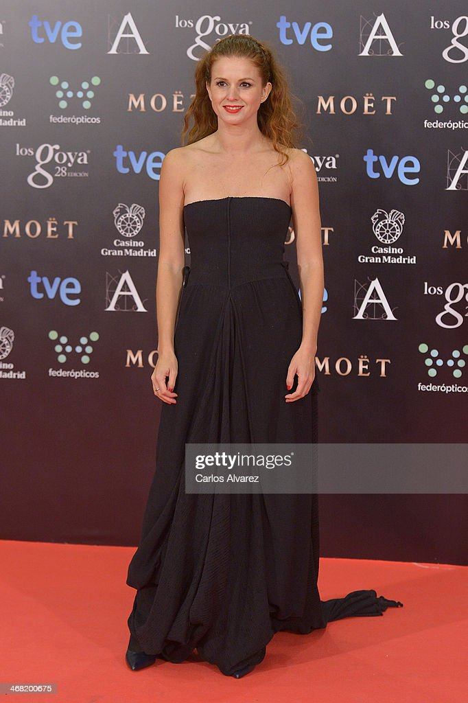 Marian Aguilera attends Goya Cinema Awards 2014 at Centro de Congresos Principe Felipe on February 9, 2014 in Madrid, Spain.