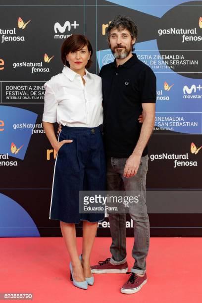 Marian Alvarez and Andres Gertrudix attends the presentation of San Sebastian Film Festival 2017 programme on July 28 2017 in Madrid Spain