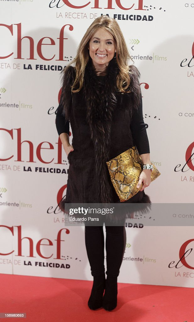 Marian Camino attends 'El chef, la receta de la felicidad' ('Comme un chef') premiere photocall at Palafox cinema on November 26, 2012 in Madrid, Spain.