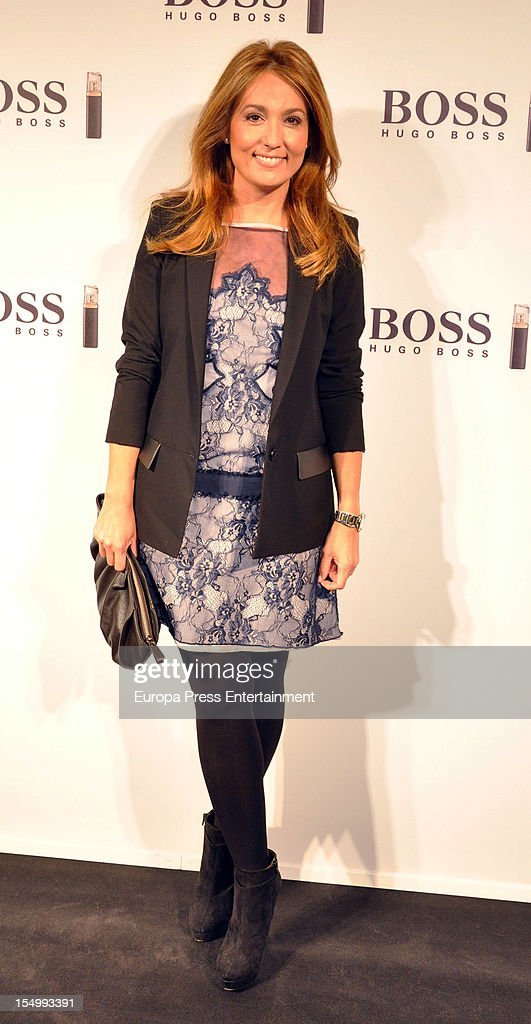 Marian Camino attends the launch of 'Boss Nuit Pour Femme' fragrance on October 29, 2012 in Madrid, Spain.