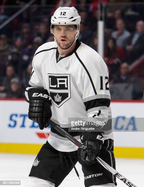 Marian Gaborik of the Los Angeles Kings plays in the game against the Montreal Canadiens at the Bell Centre on December 12 2014 in Montreal Quebec...