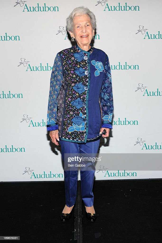Marian Heiskell attends The National Audubon Society 10th Anniversary Women in Conservation Luncheon on May 29, 2013 in New York, United States.