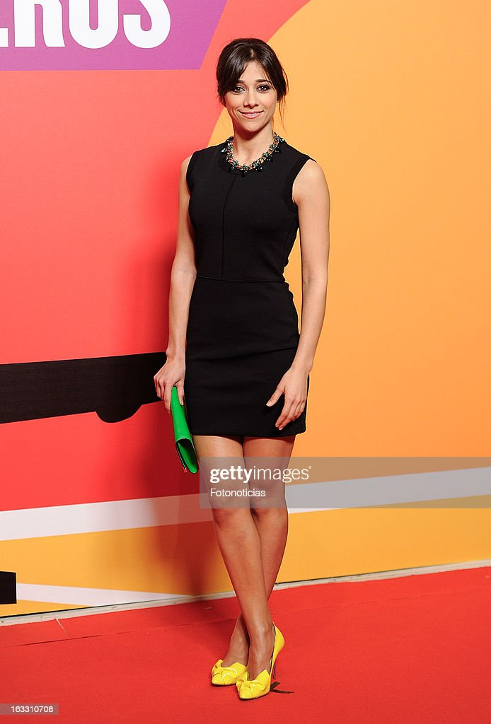 Marian Hernandez attends 'Los Amantes Pasajeros' premiere party at the Casino de Madrid on March 7, 2013 in Madrid, Spain.