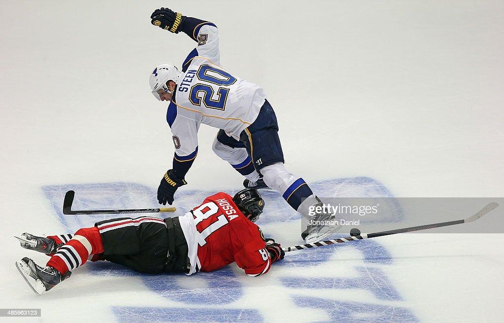 St Louis Blues v Chicago Blackhawks - Game Three