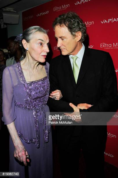 Marian Seldes and Kevin Kline attend Vapiano hosts the New York Premiere of THE EXTRA MAN red carpet arrivals and afterparty at Village East Cinema...