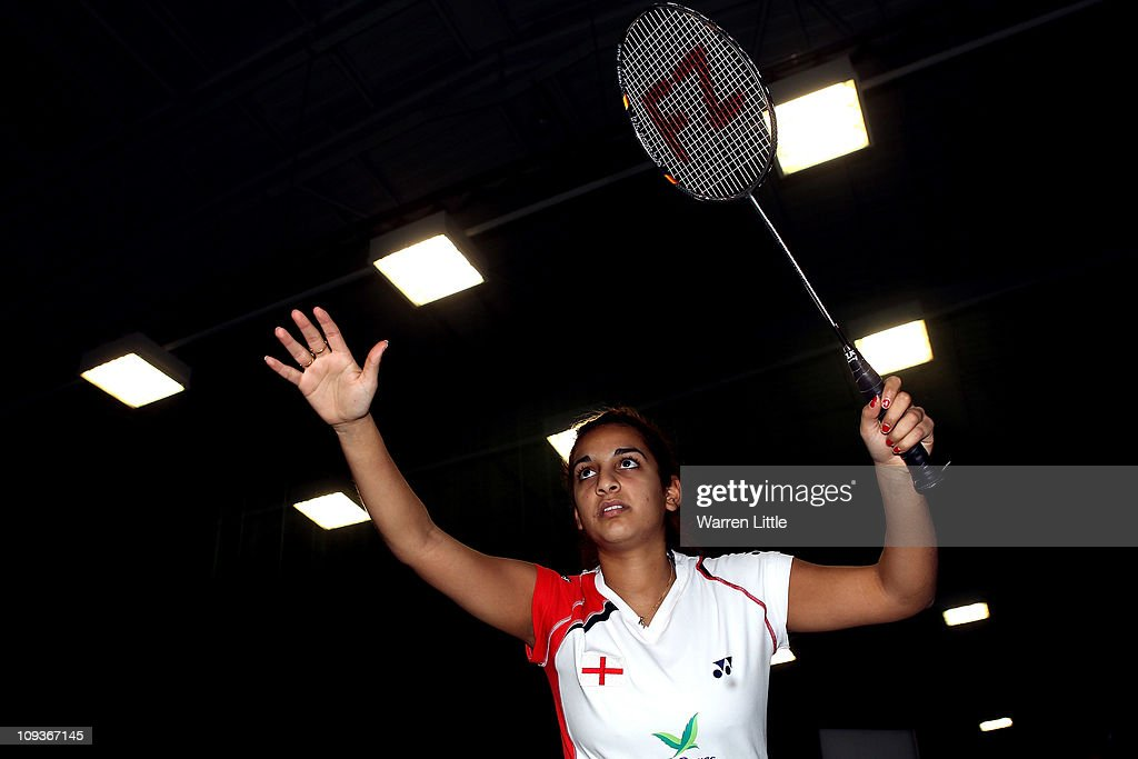 Mariana Agathangelou of the England Badminton squad poses for a picture at the National Badminton Centre on February 23, 2011 in Milton Keynes, England.