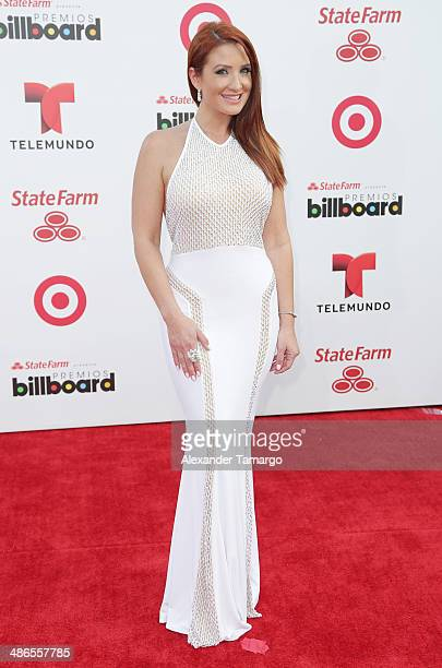Mariana Rodriguez arrives at the 2014 Billboard Latin Music Awards at Bank United Center on April 24 2014 in Miami Florida