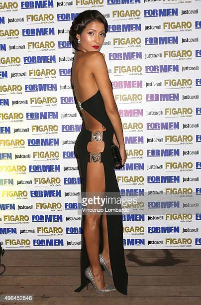 Mariana Rodriguez attends the For Men Magazine 2016 Maxi Calendar dinner party on November 9 2015 in Milan Italy