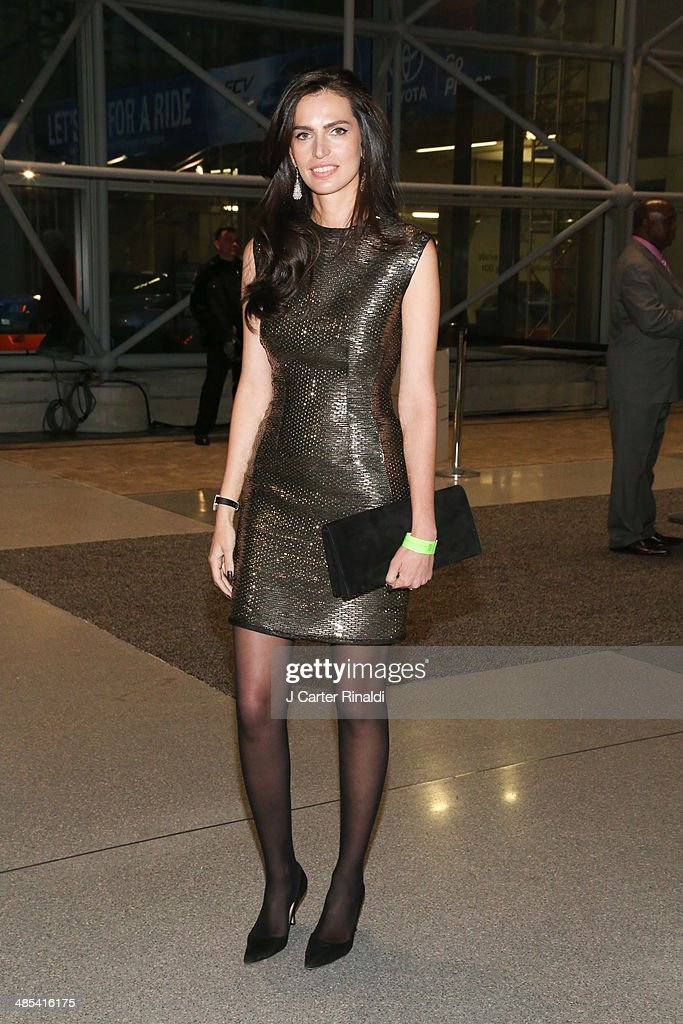 Mariana Zois attends the East Side House Gala Preview during the 2014 New York Auto Show at the Jacob Javits Center on April 17, 2014 in New York City.