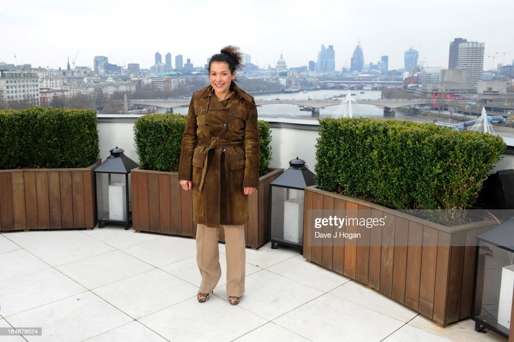 Mariane Pearl attends a photo call to launch 'The Sound Of Change Live' at the Corinthia Hotel on March 26, 2013 in London, United Kingdom. Chime For Change, a global campaign for girls' and women's empowerment founded by Gucci and with a founding committee comprised of Gucci Creative Director Frida Giannini, Salma Hayek Pinault and Beyonce Knowles-Carter, today announced a concert event at London's Twickenham Stadium on June 1 with Co-founder and Artistic Director, Beyonce as headliner. Also set to perform are Ellie Goulding, Florence and the Machine, HAIM, Iggy Azalea, John Legend, Laura Pausini, Rita Ora, Timbaland and more to be announced.