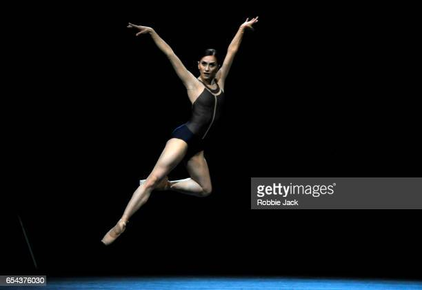 Marianela Nunez in the Royal Ballet's production of David Dawson's The Human Seasons at the Royal Opera House on March 14 2017 in London England