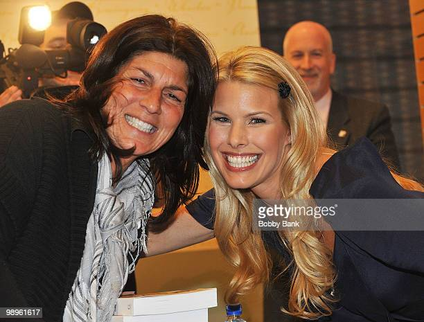 Mariann from Brooklyn and Beth Ostrosky Stern attend Beth Ostrosky Stern signing of 'Oh My Dog' at Barnes Noble Lincoln Triangle on May 10 2010 in...