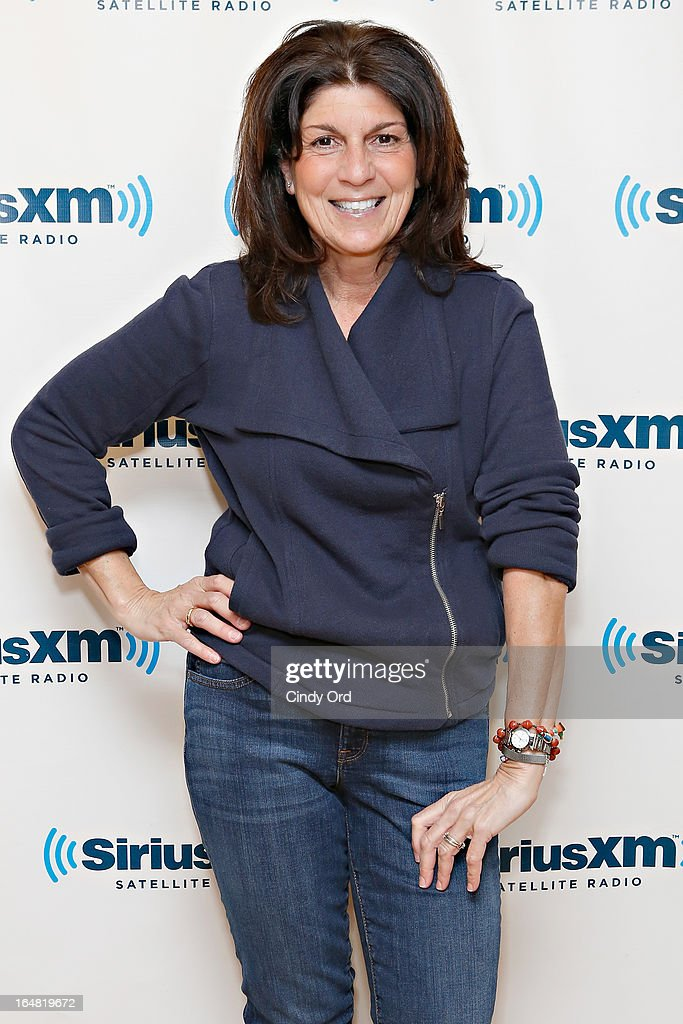 Mariann from Brooklyn visits the SiriusXM Studios on March 28, 2013 in New York City.