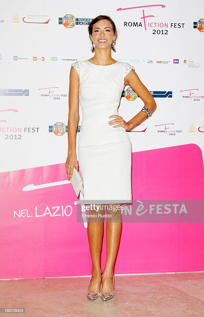 Marianna De Martino attends the ' RomaFictionFest 2012 - Opening Ceremony' at Auditorium Parco Della Musica on September 30, 2012 in Rome, Italy.