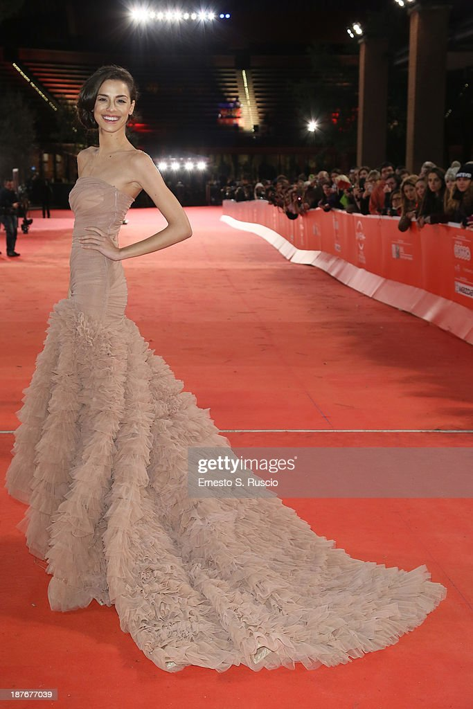 Marianna Di Martino attends 'Romeo And Juliet' Premiere during The 8th Rome Film Festival at Auditorium Parco Della Musica on November 11, 2013 in Rome, Italy.