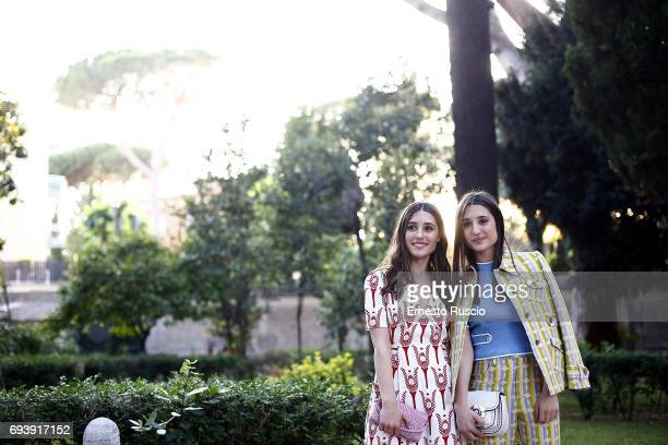 Marianna Fontana and Angela Fontana attend Ciak D'Oro 2017 at Link Campus University on June 8 2017 in Rome Italy