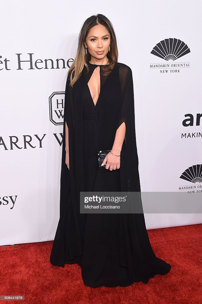 Marianna Hewitt attends the 2016 amfAR New York Gala at Cipriani Wall Street on February 10, 2016 in New York City.