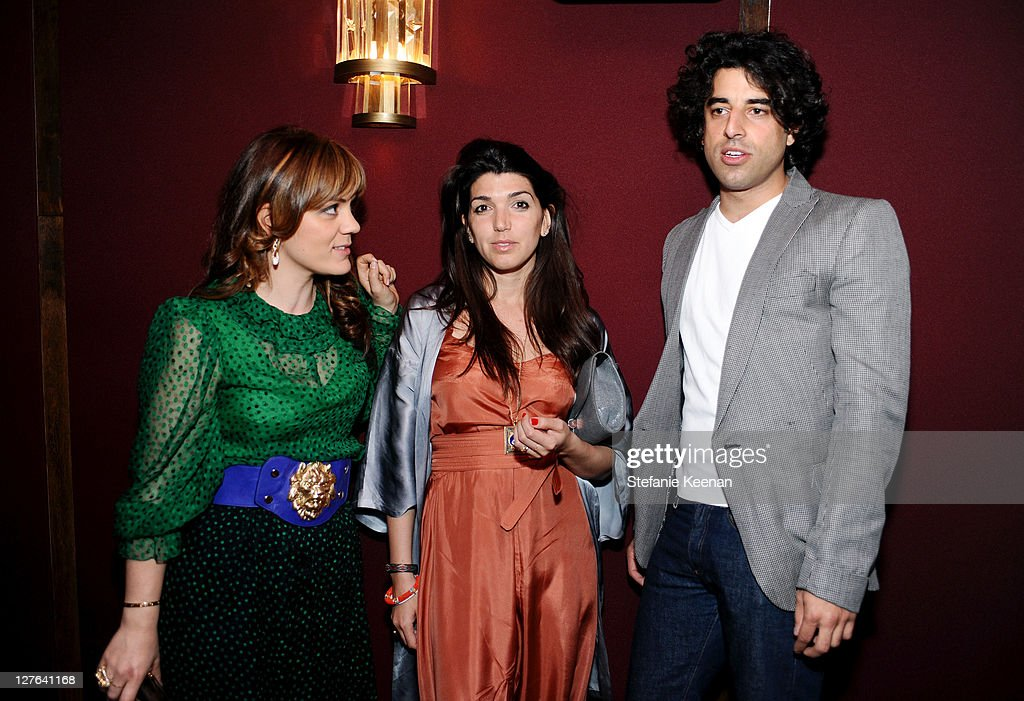 Marianna Kulukundis, Karim Saleh and Zeina Durra attend The Atlantic Magazine And AriZona Beverages Los Angeles Premiere Of 'The Imperialists Are Still Alive!' at Soho House on April 19, 2011 in West Hollywood, California.