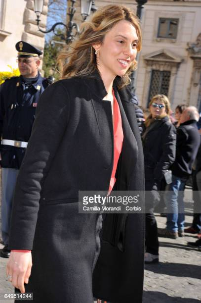 Marianna Madia attends International Women's Day Celebrations at Palazzo del Quirinale on March 8 2017 in Rome Italy