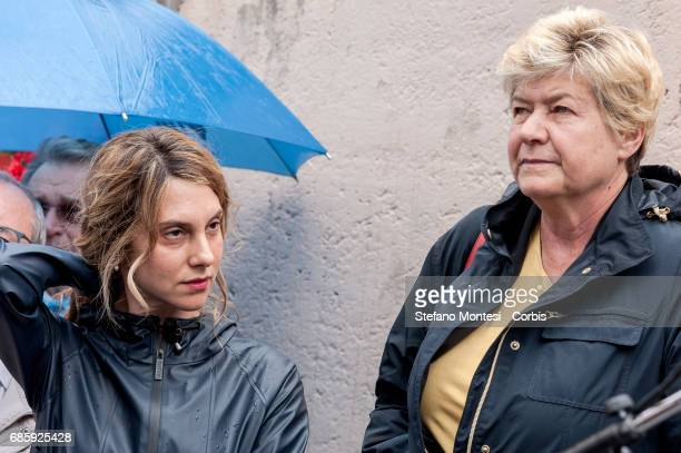 Marianna Madia Minister of Public Administration and Simplification and Susanna Camusso General Secretary of the CGIL during the Commemoration by...