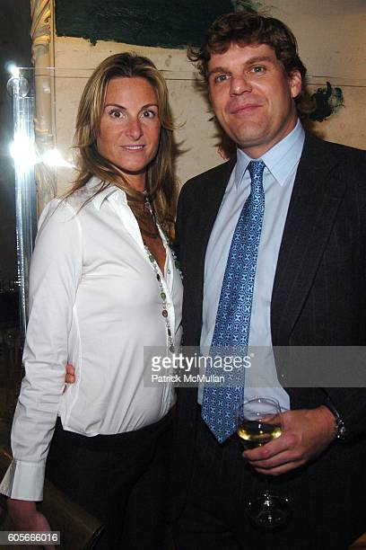 Marianna Olszewski and Robert Ireland attend BENTLEY hosts The East Side House Settlement Kick Off Party for The Opening Night of The 2006 New York...