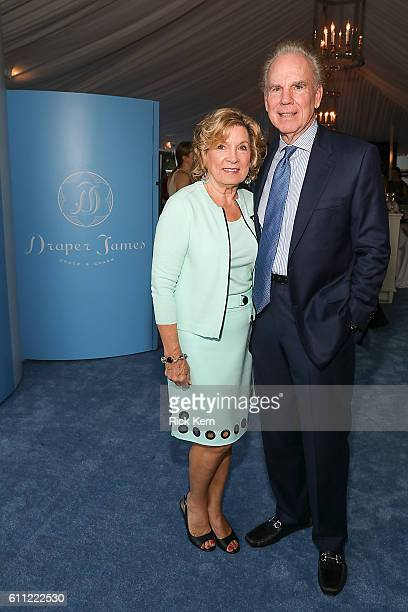Marianne and Roger Staubach celebrate the Draper James Dallas store opening on September 28 2016 in Dallas Texas