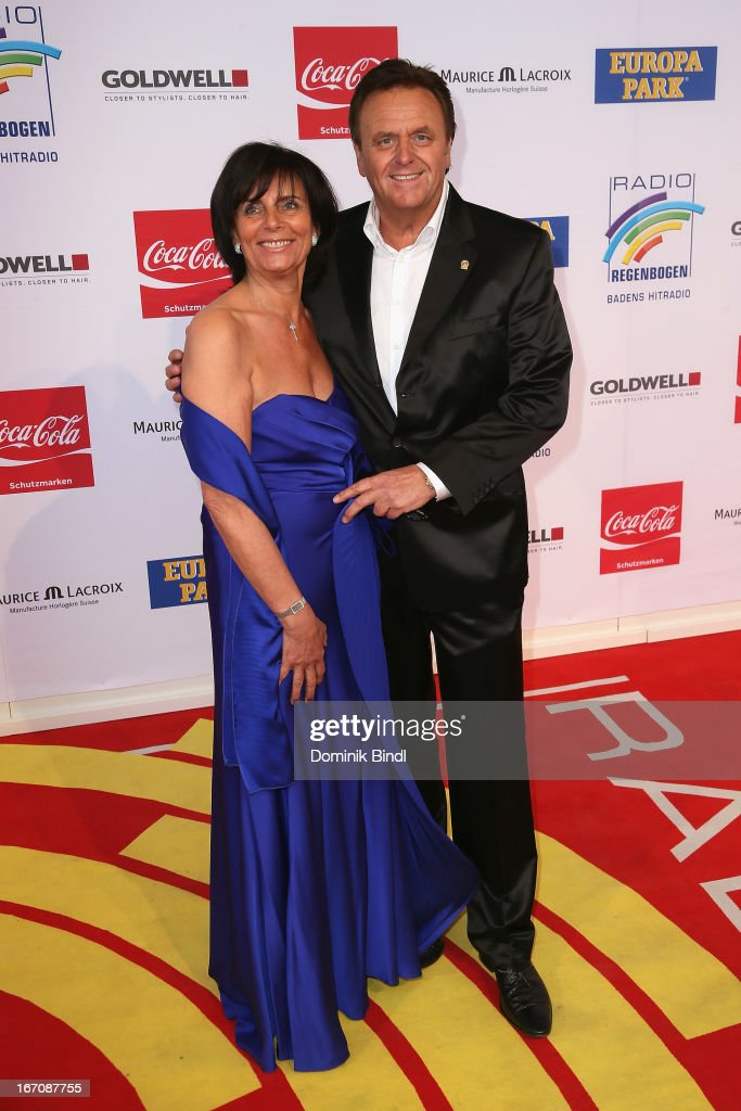 Marianne and Roland Mack attend the Radio Regenbogen Award 2013 at Europapark on April 19, 2013 in Rust, Germany.