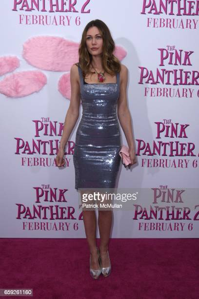Marianne Aulie attends COLUMBIA PICTURES and MGM Present the World Premiere of THE PINK PANTHER 2 at Ziegfeld Theatre on February 3 2009 in New York...