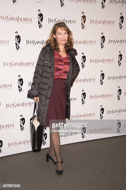 Marianne Basler attend the 'Yves Saint Laurent' Paris Premiere at Cinema UGC Normandie on December 19 2013 in Paris France