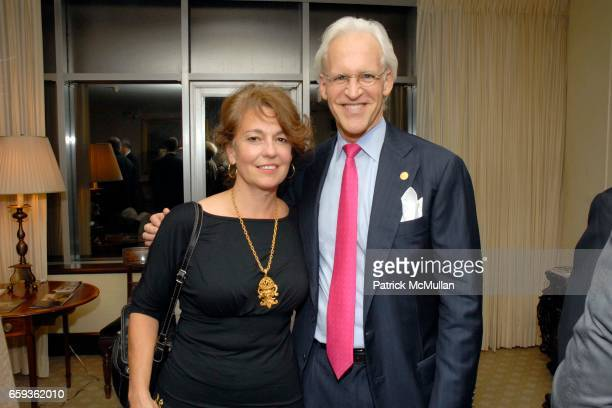 Marianne Berardi and Robert M Edsel attend Robert M Edsel's THE MONUMENTS MEN Launch at The Metropolitan Museum of Art Hosted by Thomas Campbell at...