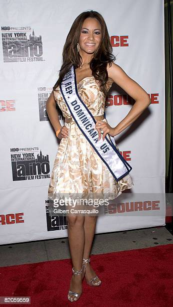 Marianne Cruz attends the premiere of 'Big Pun The Legacy' during the 9th Annual New York International Latino Film Festival at the Director's Guild...